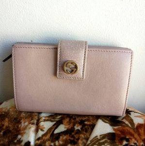 💯 Auth Gucci Japan Exclusive leather wallet
